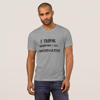 Camiseta Eu penso o t-shirt