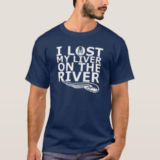 Camiseta Eu perdi meu fígado no rio