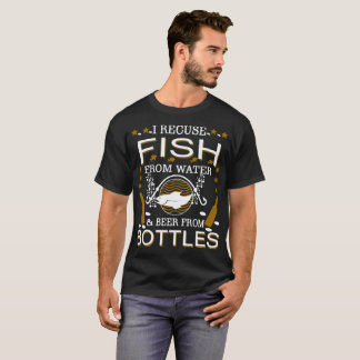 Camiseta Eu pesco porque perfurar pessoas é olhada de