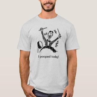 Camiseta Eu pooped hoje