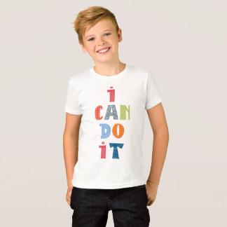 """Camiseta """"Eu posso fazê-lo"""" t-shirt"""