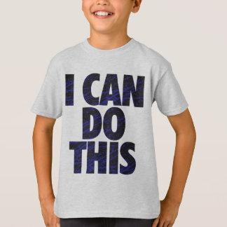 Camiseta Eu posso fazer este (a obscuridade)