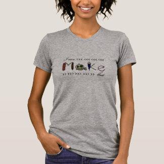 Camiseta Eu posso fazer que - t-shirt do T do