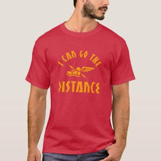 Camiseta Eu posso ir a motivação Running da distância |