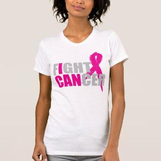 Camiseta Eu posso lutar o T do cancro da mama