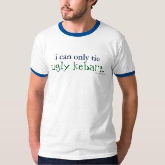 Camiseta eu posso somente amarrar o t-shirt feio da