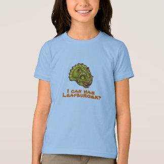 Camiseta Eu posso tenho o leafburger?