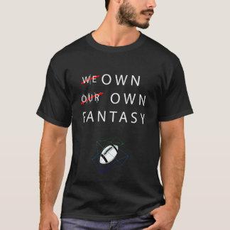 Camiseta Eu possuo minha própria fantasia