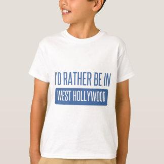 Camiseta Eu preferencialmente estaria em Hollywood