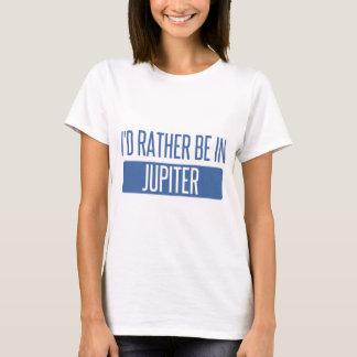 Camiseta Eu preferencialmente estaria em Jupiter