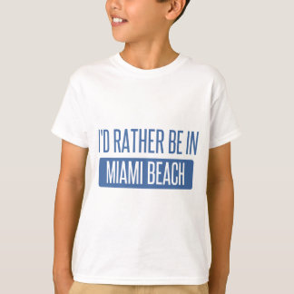 Camiseta Eu preferencialmente estaria em Miami Beach