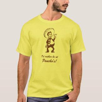 Camiseta Eu preferencialmente estaria em Pancho