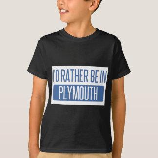 Camiseta Eu preferencialmente estaria em Plymouth