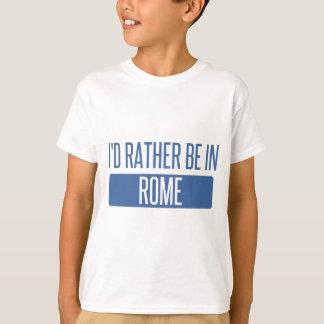 Camiseta Eu preferencialmente estaria em Roma