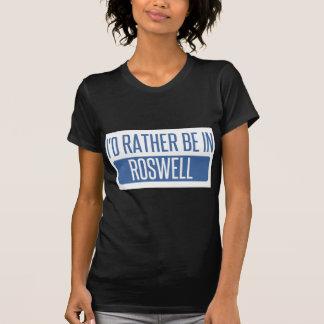 Camiseta Eu preferencialmente estaria em Roswell GA