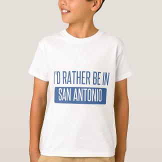 Camiseta Eu preferencialmente estaria em San Antonio