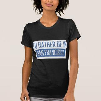 Camiseta Eu preferencialmente estaria em San Francisco