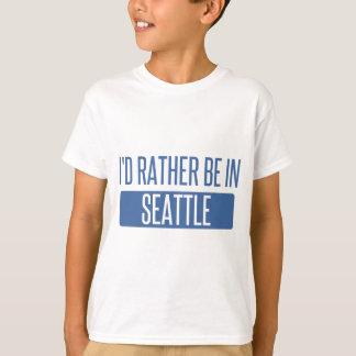 Camiseta Eu preferencialmente estaria em Seattle