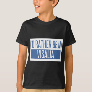 Camiseta Eu preferencialmente estaria em Visalia
