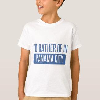 Camiseta Eu preferencialmente estaria na Cidade do Panamá
