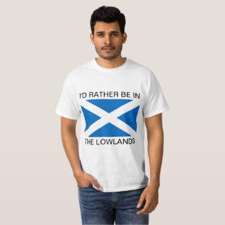 Camiseta Eu PREFERENCIALMENTE ESTARIA NAS PLANÍCIES