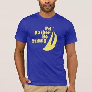 Camiseta Eu preferencialmente estaria navegando