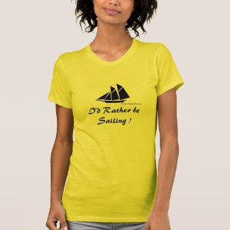 Camiseta Eu preferencialmente estaria navegando!
