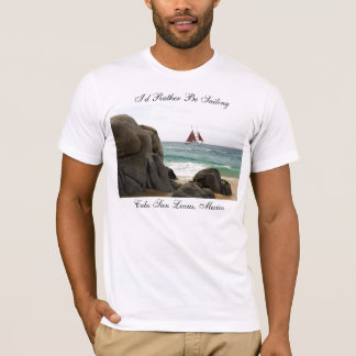 Camiseta Eu preferencialmente estaria navegando o Tshirt