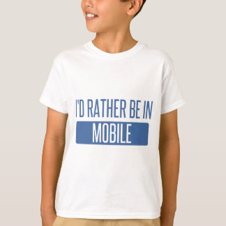 Camiseta Eu preferencialmente estaria no móbil
