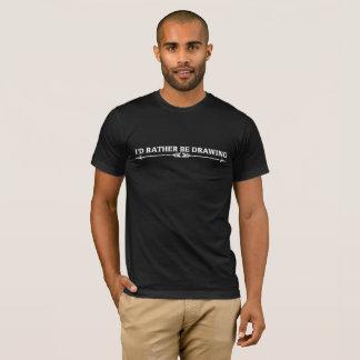 Camiseta Eu preferencialmente estaria tirando o tema