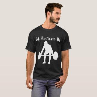 Camiseta eu preferencialmente powerlifting