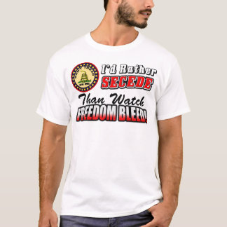 Camiseta Eu preferencialmente Secede!
