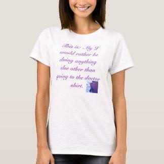 Camiseta Eu preferencialmente seria…