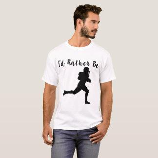 Camiseta eu preferencialmente seria basebol