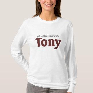 Camiseta Eu preferencialmente seria com Tony
