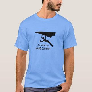 Camiseta Eu preferencialmente seria DESLIZAMENTO de CAIR!