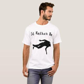 Camiseta eu preferencialmente seria mergulho