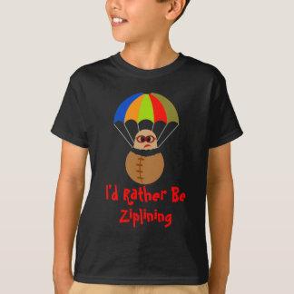 Camiseta Eu preferencialmente seria T dos miúdos de