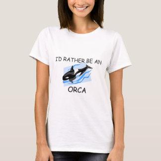 Camiseta Eu preferencialmente seria uma orca