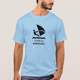 Camiseta Eu preferencialmente seria WINDSAILING! T-shirt