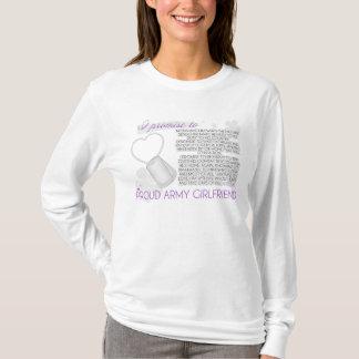 Camiseta Eu prometo (exército Gf)