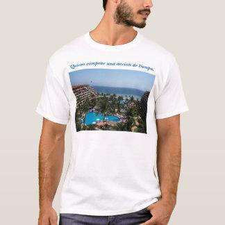 Camiseta Eu quero comprar uma partilha de tempo