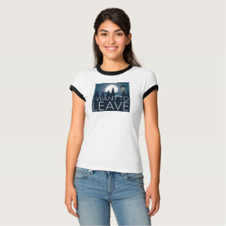 Camiseta Eu quero deixar a UFO o humor engraçado