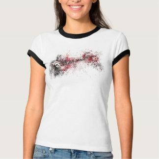 Camiseta Eu quero rasgar para baixo… (adaptação da pintura)