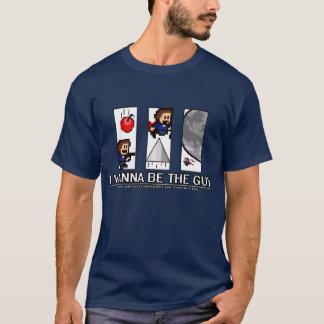 Camiseta Eu quero ser a cara - grandes inimigos!