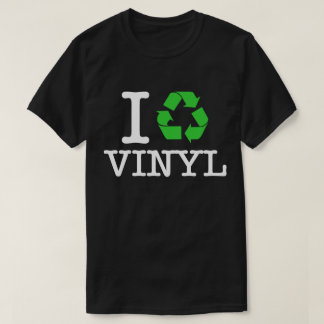 Camiseta Eu recicl o vinil