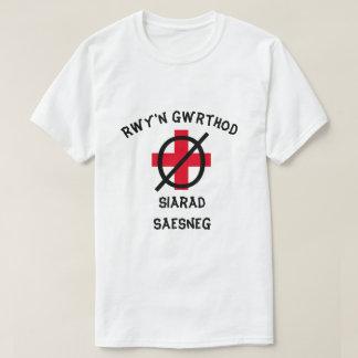 Camiseta Eu recuso falar o inglês em Galês