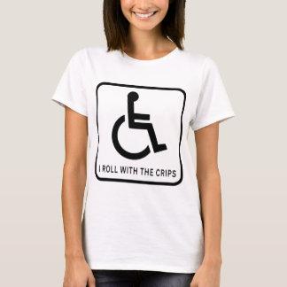 Camiseta Eu rolo com a batata frita
