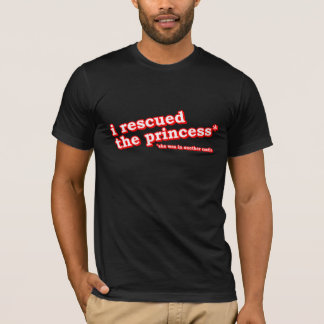 Camiseta Eu salvei a princesa?