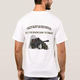 Camiseta Eu sei disparar